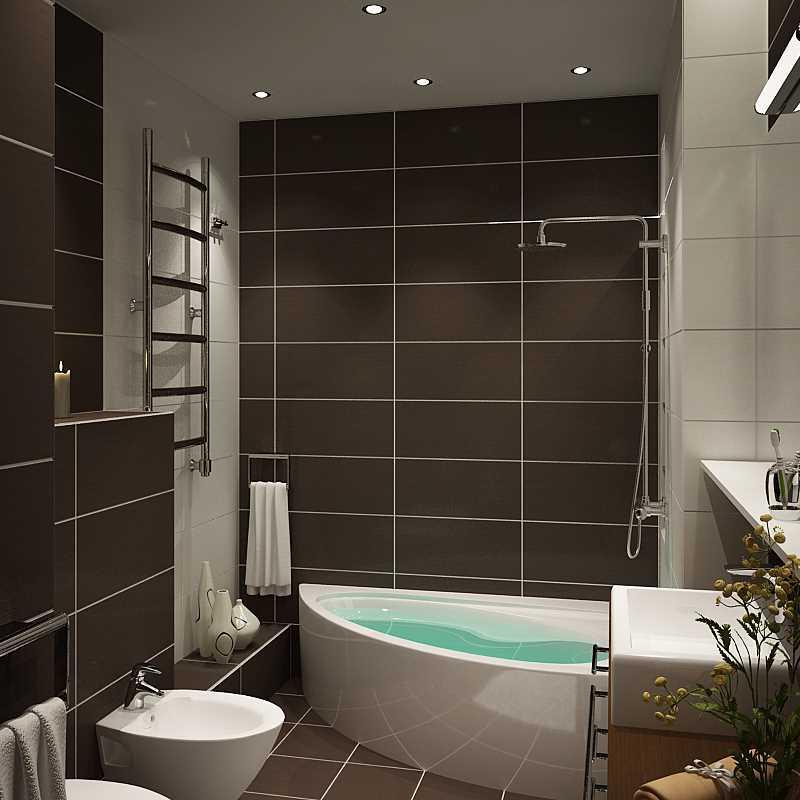 Отделка ванной комнаты плиткой фото дизайн в