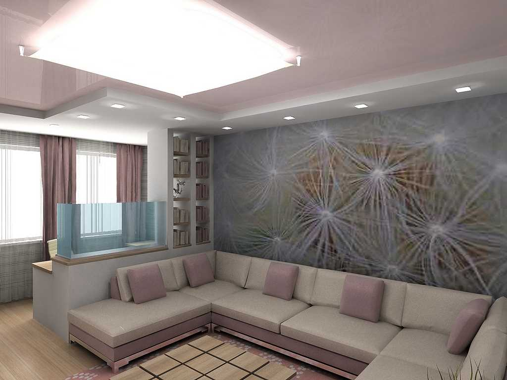 Дизайн проект однокомнатной квартиры 40 кв м